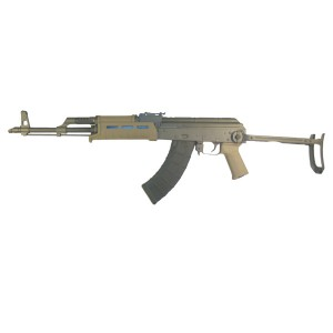 "High Standard AK-T 7.62X39 30-Round 16"" Semi-Automatic Rifle in Matte Black/FDE - AKT-FDE"