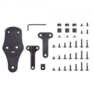 "Safariland Spacer Kit W/ 2"" Drop Adapter in Black - HDA-KIT-RH"