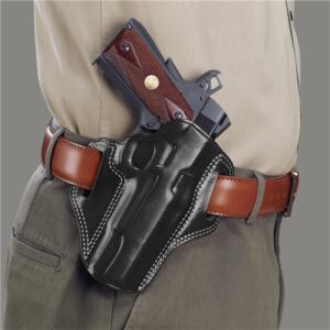 COMBAT MASTER BELT HOLSTER Gun FIt: GLOCK - 20 Color: BLACK Hand: Right Handed - CM228B