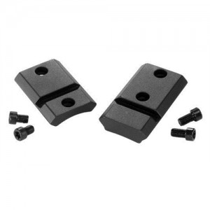Warne Matte Black Base Set For Browning A-Bolt M918918M