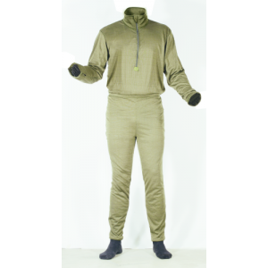 Voodoo Dual Action Thermal Men's Compression Pants in Sand - Large
