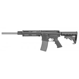 "Olympic Arms K16SST .204 Ruger 30-Round 16"" Semi-Automatic Rifle in Black - K16SST204"
