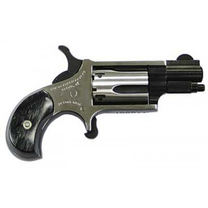 "North American Arms Mini-Revolver .22 Long Rifle 5-Shot 1.125"" Revolver in Fired Case/Duo-Tone - NAA-22LR-TT"