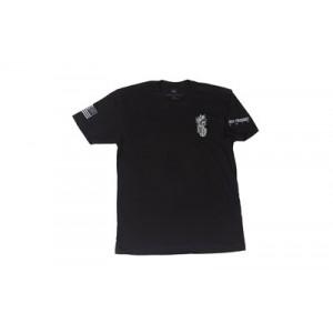 Spike's Tactical Aloha Snackbar Men's T-Shirt in Black - Large