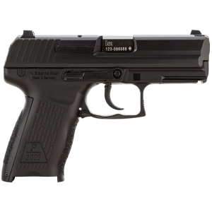 "Heckler & Koch (HK) P2000 .40 S&W 12+1 3.66"" Pistol in Polymer (V2) - M704202A5"