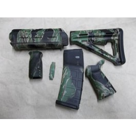 Matrix Diversified Ind Magpul Milspec Ar 15 Furniture Kit Tiger Stripe