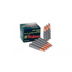TULA Target 7.62X39 Full Metal Jacket, 124 Grain (100 Rounds) - UL076230