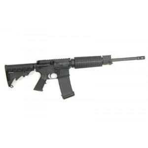 "CMMG AR-15 .300 AAC Blackout 30-Round 16.1"" Semi-Automatic Rifle in Black - 30AF8C3"