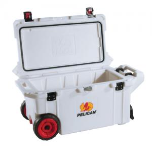 Pelican - Elite Cooler Color: Tan & White Size: 80 Qt