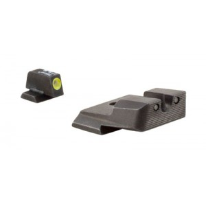 Trijicon Inc Tritium HD Night Sights for M&P Black Frame Color Yellow Sight Color Metal Material SA137Y
