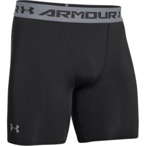 Under Armour Armour Heatgear Men's Underwear in Black/Steel - 3X-Large