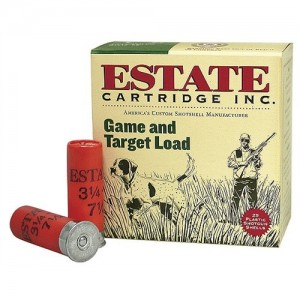 "Estate Cartridge Promo Game & Target Loads .12 Gauge (2.75"") 6 Shot Lead (250-Rounds) - GTL126"