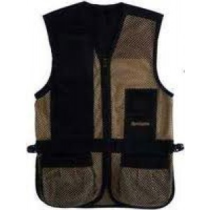 Remington Safety Vest in Mesh Net Black - Large