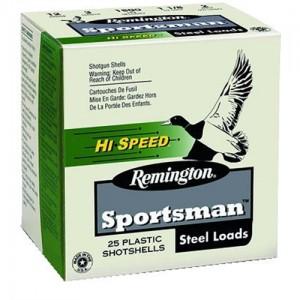 """Remington Sportsman Hi-Speed Load .12 Gauge (3"""") 4 Shot Steel (250-Rounds) - SSTHV12H4"""