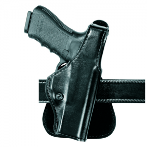 """Safariland Paddle Right-Hand Paddle Holster for Smith & Wesson 913, 3914, 4013, 469, 669, 6906, 6924, 6926 in Plain Black (3.5"""") - 518-20-61"""