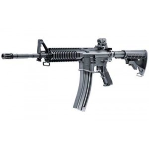 """Walther USA Colt M4 Ops .22 Long Rifle 30-Round 16.2"""" Semi-Automatic Rifle in Black - 5760302"""