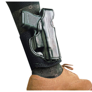 "Desantis Gunhide Die Hard Right-Hand Ankle Holster for Smith & Wesson Bodyguard .380 in Black (2.75"") - 014PCU7Z0"
