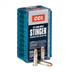 CCI Speer Varmint .22 Long Rifle Hollow Point, 32 Grain (50 Rounds) - 50