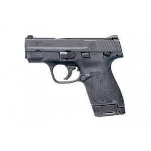 """Smith & Wesson Shield M2.0, Semi-automatic Pistol, Striker Fired, Compact Frame, 9mm, 3.1"""" Barrel, Polymer Frame, Black Finish, 2 Magazines(1-7rd & 1-8rd), Thumb Safety, 3 Dot Sights 11806"""