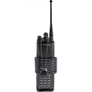 Accumold Elite Adjustable Radio Holder Option: Motorola Saber - Basket Weave
