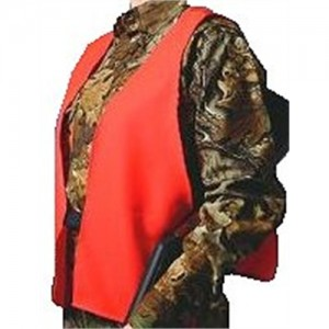 Hunters Specialties Safety Vest in Neoprene Orange - One Size Fits Most