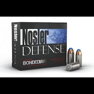 Nosler Bullets Performance Bonded .40 S&W Bonded Tipped, 200 Grain (20 Rounds) - 39515