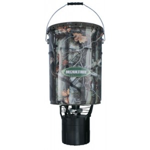 Moultrie Pro Hunter Feeder 6.5 Gallon Capacity ABS Housing Material Camo Finish MFHPHB65