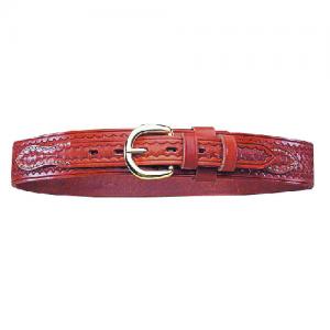 Ranger Belt Pln Tan Sz 38 Chro  Full Grain Leather Unlined Popular Western Billet Design Fits 1Inch Buckle Plain Tan Nickle Size 38 - 12086