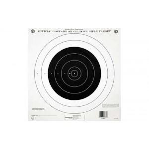 Champion Traps & Targets Gtq4 Nra Target, 100 Yard Single Bullseye, 12 Pack 40762