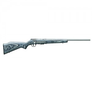 "Savage Arms 93R17 BVSS .17 HMR 5-Round 21"" Bolt Action Rifle in Stainless Steel - 96705"