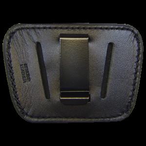 Peace Keeper 035BLK Belt Slide Inside/Outside Pants Medium/Large Frame Auto High Grade Leather Black - 035BLK