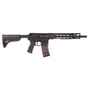 """Primary Weapons Systems MK1 .300 AAC Blackout 30+1 11.8"""" AR Pistol in Black Aluminum (Mod 2) - 2M111PB1B"""