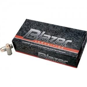 CCI Speer Blazer .40 S&W Total Metal Jacket, 155 Grain (50 Rounds) - 3587