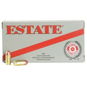 Estate Cartridge Range .380 ACP Full Metal Jacket, 95 Grain (50 Rounds) - ESH38095