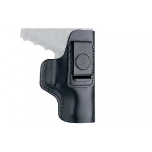 Desantis Gunhide 31 Insider Left-Hand IWB Holster for Ruger LCP/Kel-Tec P3AT/Diamondback DB380 in Black Leather - 031BBR7Z0