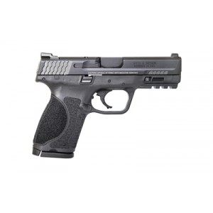 """Smith & Wesson M&p 2.0, Striker Fired, Compact Frame, 40 S&w, 4"""" Barrel, Polymer Frame, Black Finish, 13rd, Fixed Sights, 2 Magazines 11684"""