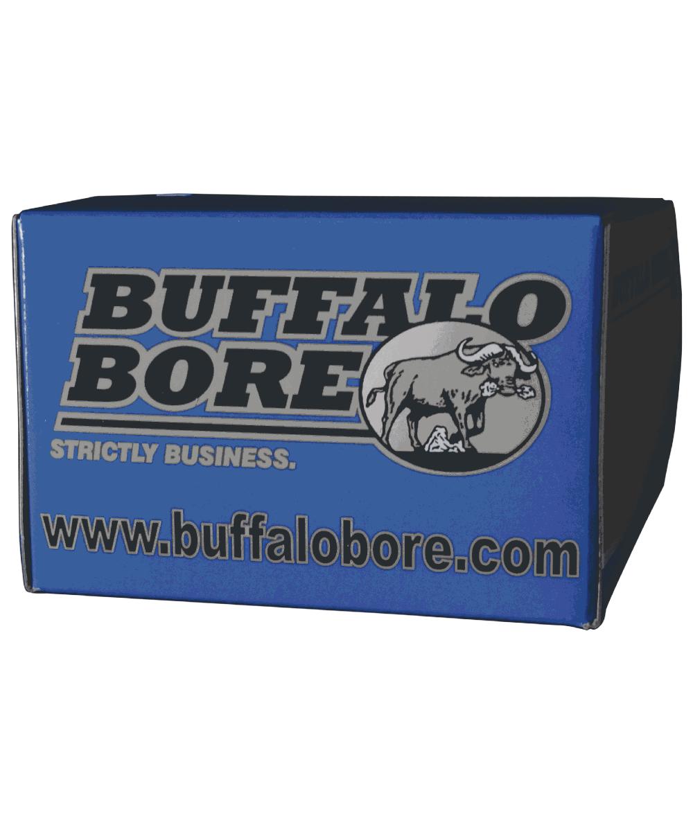 Buffalo Bore Ammunition  44 Remington Magnum Lead Flat Nose, 340 Grain
