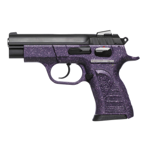"""EAA Witness 9mm 13+1 3.6"""" Pistol in Purple W/Silver Accents Polymer (Pavona Compact) - 999402"""