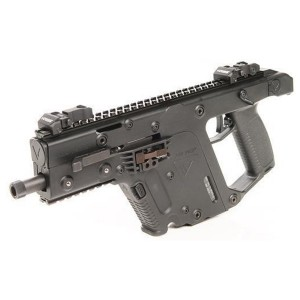 "Kriss Vector SDF 45acp Semi Automatic Pistol 5.5"" Threaded Barrel Flip Up Front and Read Sights Ambidextrous Safety/Fire Switch Uses Glock G-21 45acp Magazines KRIGKV45PBL00"