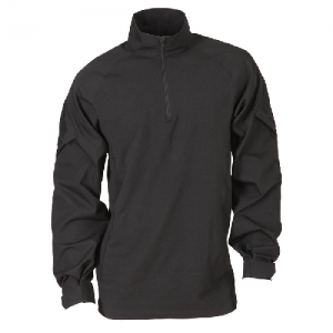 5.11 Tactical Rapid Assault Men's Long Sleeve Shirt in Black - Medium
