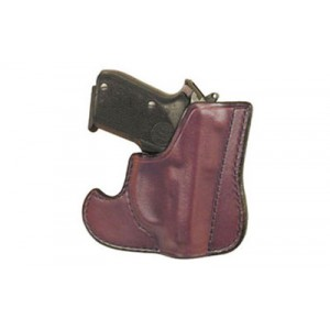 Don Hume 001 Front Pocket Holster, Fits S&w Bodyguard With Laser .38 Special, Ambidextrous, Brown Leather J100103r - J100103R