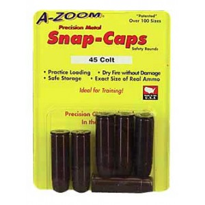 Azoom 45 Long Colt Snap Caps 6 Pack 16124