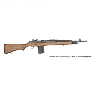 "Springfield M1A Scout Squad .308 Winchester 10-Round 18"" Semi-Automatic Rifle in Blued - AA9122"
