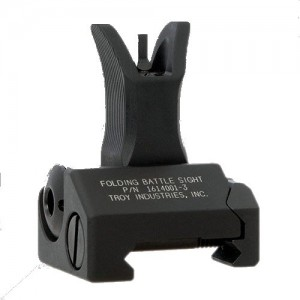 Troy Front Folding Sight M4 Style Tritium FBSFMBT00