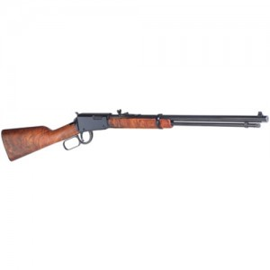 "Henry Repeating Arms Frontier Octagon Barrel .22 Long Rifle 15-Round 20"" Lever Action Rifle in Blued - H001T"
