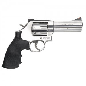"Smith & Wesson 686 Plus .357 Remington Magnum 7-Shot 4"" Revolver in Satin Stainless (Distinguished Combat Magnum) - 164194"