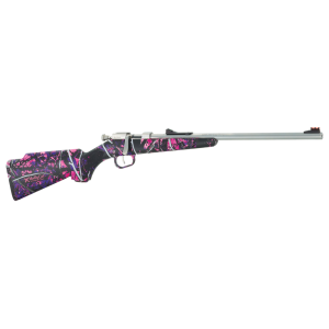 """Henry Repeating Arms Mini .22 Long Rifle 16.25"""" Bolt Action Rifle in Stainless - H005MG"""