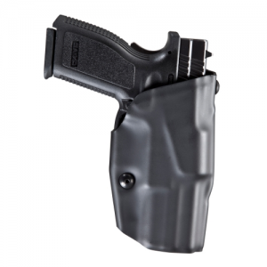 "Safariland 6379 ALS Right-Hand Belt Holster for Glock 26 in STX Plain Black (3.5"") - 6379-183-411"