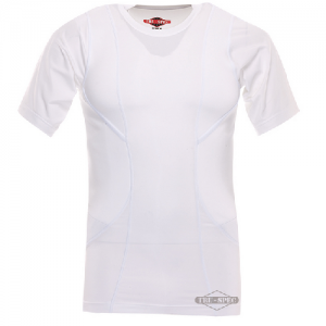 Tru Spec 24-7 Men's Holster Shirt in White - Medium