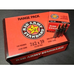 Century Arms 7.62X39 Full Metal Jacket, 123 Grain (180 Rounds) - AM1920-180